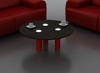 Orion Wood  Top coffee table UK