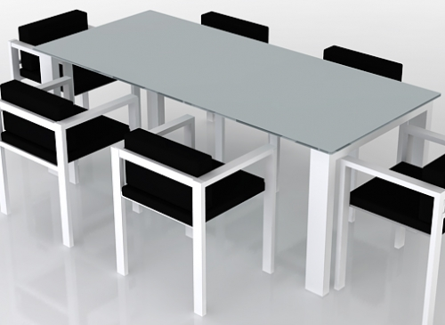 Outdoor furniture designer lix table and chairs