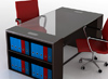 Modern wood desks professional offices